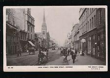 Scotland Aberdeenshire ABERDEEN Union St Tram #34 pony trap Finlays 1916 RP PPC