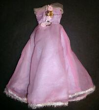 Barbie, Sindy Doll Clothes: Lilla Abito lungo con fiori, abito da ballo DTW