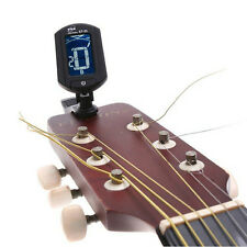 LCD Gitarre Stimmgerät Tuner Clip On Gitarrenstimmgerät Tuning Display Digital