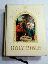 Holy Bible King James Version PEACE OF MIND Deluxe Family Collectors Edition