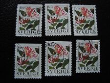 SUEDE - timbre yvert et tellier n° 1979 x6 obl (A29) stamp sweden (E)