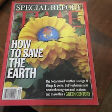 TIME MAGAZINE SPECIAL REPORT HOW TO SAVE THE EARTH,  AUGUST 26, 2002