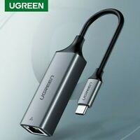 UGREEN USB C Ethernet Adapter Gigabit TypeC to RJ45 Network Card Lan Adaptor Hub