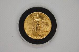 1924 Saint Gaudens $20 Double Eagle gold coin