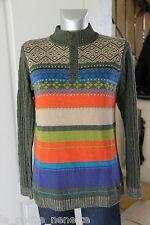 joli pull fille laine d'agneau col boutonné KENZO KIDS size 14 ans 162 cms