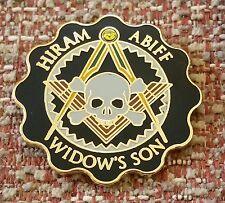 MASONIC HIRAM ABIFF / WIDOW'S SON Lapel Pin
