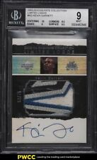 2003 Exquisite Collection Limited Logos Kevin Garnett PATCH AUTO /75 BGS 9 MINT