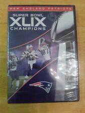 New listing NFL: Super Bowl Champions XLIX DVD 2015 New England Patriots Tom Brady SEALED