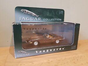 Corgi Vanguards VA04907 Jaguar E Type Bronze Limited Edition. 1:43