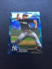 2016 Chance Adams Blue Refractor #/150 Prospect Bowman Chrome Yankees