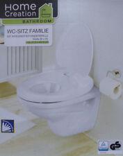 Familien WC-Sitz mit Absenkautomatik Toilettendeckel Kindertoilettensitz / NEU!