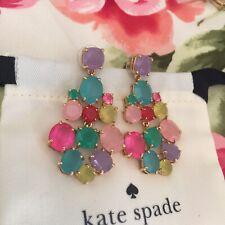 GORGEOUS Kate Spade Gumdrop Chandelier Earrings Mindy Kaling Party Festive Fun