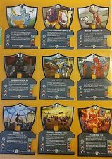 LEGO Knight's Kingdom Card Game LOT OF 9 CARDS FREE SHIPPING !