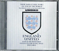 ECHO & The BUNNYMEN CD England United SPICE GIRLS OCEAN COLOUR SCENE SEALED !