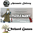 Puzzle Agent : PC MAC : Steam Digital : Auto Delivery