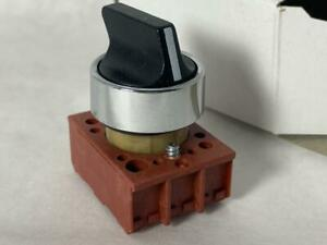 SIEMENS 22mm 3-Position Maintained Selector Switch 3SB02-3MKB