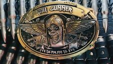 IRON MAIDEN ACES HIGH TRIBUTE HAND MADE BUCKLE FOR REAL FANS LIMITED EDITION