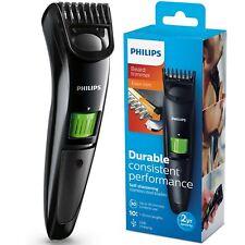 Philips Series 3000 Beard & Stubble Trimmer Men's Cordless Shaver & USB Charging