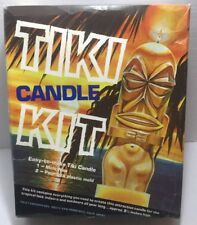 Vtg Tiki Wax Candle Making Kit Yaley #598