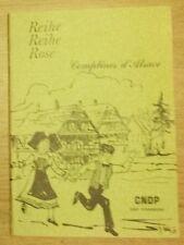 REIHE REIHE ROSE COMPTINES D'ALSACE 1981 TTBE
