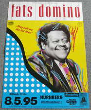 Poster Plakat – fats domino : They call me the Fat Man - Format: DIN A1