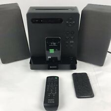 Sony Micro Hi-Fi Component System iPod CD AM/FM CMT-LX20i + IPOD Touch 4th Gen