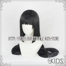 Kakegurui Yumeko Jabami Cosplay wig costume black colour 100cm