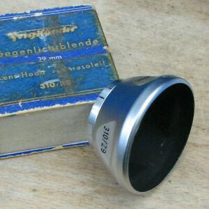 genuine  Voigtländer 29mm push fit Lens hood # 310/29