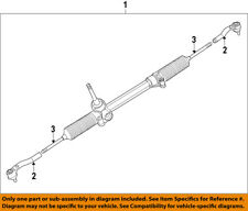 FIAT OEM 13-17 500-Rack And Pinion Complete Unit RL154439AB