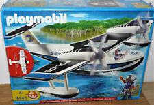 Playmobil 4445 Wasserflugzeug Police Waterairplane Airplane , mit Anleitung