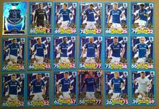 Everton Football Trading Cards Set 2017-2018 Season