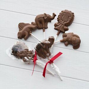 Milk Chocolate Animal Lollipops