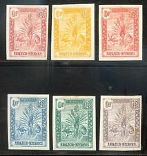 MADAGASCAR 1903 Sechs SCHÖNE PROBEN UNGEZÄHNT  (E7330