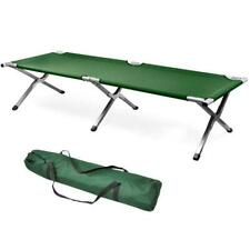 Portable Military Folding Bed Cot Sleeping Outdoor Camping Hiking Guest Bed