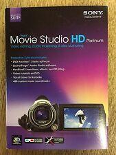 Movie Studio HD Platinum Sony PC Suite Photo Video Editing 3D Serial # Vegas