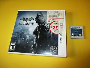 Batman: Arkham Origins Blackgate Nintendo 3DS XL 2DS Game w/Case