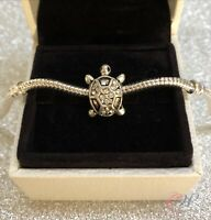 Silver Plated Turtle / Tortoise Charm for Charm Bracelet. 2 for £10