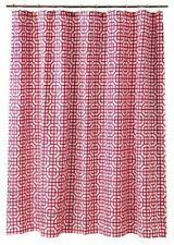 "Threshold Pink Square Lattice Fabric Shower Curtain (72"" x 72"") NEW"