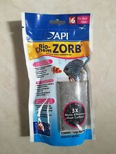 API Bio-Chem Zorb for Crystal Clear Aquarium Water, Size 6, New