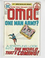 OMAC #1 (Sep-Oct 1974, DC)/Origin and 1st App Omac/Jack Kirby/VF