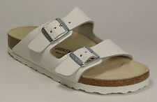 BIRKENSTOCK 051133 ARIZONA white natural leather small FOOTBED NEW