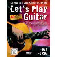 Let's play Guitar - Songbook und Gitarrenschule - Noten für Gitarre (+DVD +2 CDs