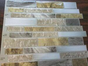 Peel&Stick Mosaics Tile. Mountain Terrain.28 sheets .