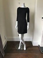 BODEN Jersey Circle Dress UK SIZE 6 or 8 NEW - LITTLE BLACK DRESS - LBD £89