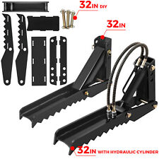 """32"""" Backhoe Thumb;Diy,1/2"""" Thick,5/8'' Thick, Hydraulic;fit Tractor Excavator"""