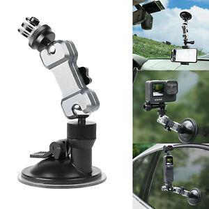 Car Suction Cup Holder Stand Phone Bracket Mount for Pocket 2/GoPro 9 Insta360