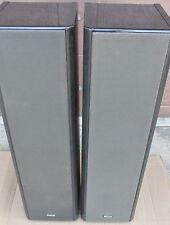 Pair of VINTAGE MAGNAT MSP300 GERMAN TALL SPEAKERS GERMANY MSP 300 Very Good