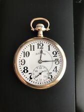 VERY RARE Illinois Sangamo Special 23 Jewel Railroad Pocket Watch