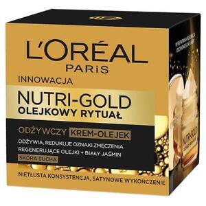 L'Oreal Paris Nutri Gold oil ritual nourishing cream oil-dry skin 50ml