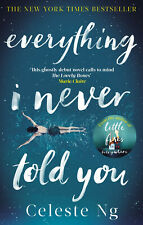 Everything I Never Told You by Celeste Ng - Bestselling Novel Book - Paperback